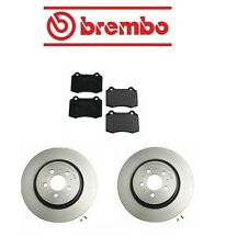 Volvo S60 04-07 L5 2.5L R Brembo Rear Brake Kit with Rotors and Mintex Pads