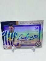 2020 21 Topps Museum Champions Soccer Evanilson ROOKIE AUTO #37/50 RC FC Porto