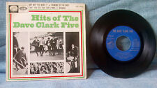 THE DAVE CLARK FIVE - HITS OF THE DAVE CLARK FIVE - ORIGINAL SPAIN EP YEAR 1965