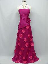 Cherlone Pink Ballgown Wedding Formal Evening Full Length Bridesmaid Dress 14