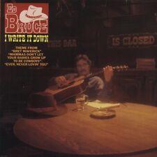 "ED BRUCE ""I Write It Down"" BRAND NEW FACTORY SEALED 1982 MCA LP"