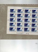 us scott # 3995 39c xf mnhog sa sheet of (20) stamps 2006 Olympics commemorative