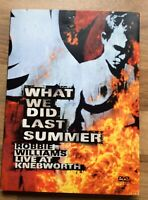 "Robbie Williams ""What We Did Last Summer"" Live At Knebworth 2003  2 X Cd DVD New"