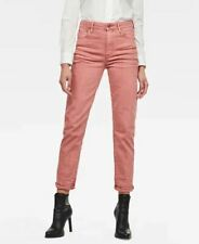 GSTAR RAW 3301 High Straight 90's Ankle Jeans in Tea Rose W28 L32 (wb100)