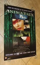 THE ANIMATRIX movie poster THE MATRIX movie poster