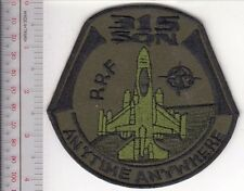 Netherlands Royal Air Force RNLAF NATO 315th Fighter Squadron Twenthe Air Base a