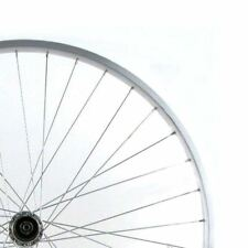 Bike Rear Wheel 26X1.75 Silver Single Wall MTB Rim Q/R Axle 8/9S 36H Wilkinson