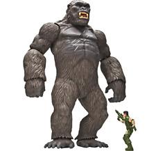 King Kong ISOLA DEL TESCHIO - 46 cm KONG Mega Figura + Figura Con Arma