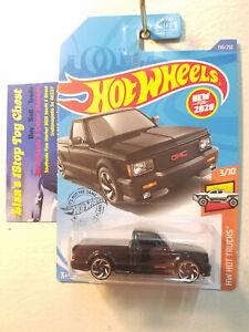 Hot Wheels 2020 HW HOT TRUCKS '91 GMC Sycloe Black 150/250 B2
