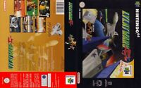 - Lylat Wars N64 Replacement Game Case Box + Cover Art Artwork Only