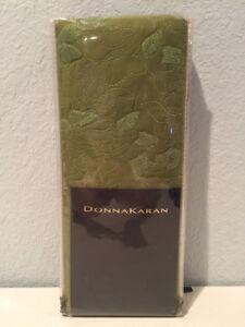 Donna Karan Textured Cross Stitch Collection KIng Pillow Sham Green DKNY