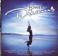 The Power of Dreams 2-disc CD NEW Manilow Boyle Rieu Sayer Dion Jackson Boyzone