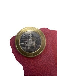 WW1 Navy HMS Belfast 2015 £2 Two Pound Coin Circulated RARE
