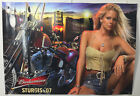 Sturgis 2007 Budweiser Poster Anheuser Busch King Of The Road Grill Motorcycle