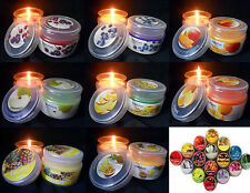 Scented Jars/Container Candles & Tea Lights