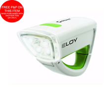 SIGMA ELOY 4 LED HEADLIGHT FRONT BIKE LIGHT EASY CLICK AND GO WHITE