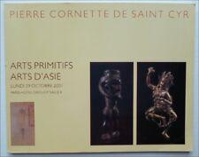 ART PRIMITIF - AFRIQUE ASIE - CATALOGUE VENTE CORNETTE PARIS 29 OCTOBRE 2001