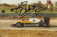 Eddie Cheever, American F1 & Indy 500 driver, signed 6x4 inch photo. COA.