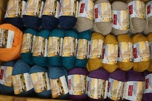 Alpaka Baby 100% Wolle Garn 1a Qualität verschiedene Farben