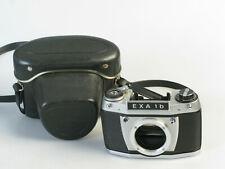 Einstellscheibe und Tasche EXA 1B 1C 1A Lichtschacht waist level Finder