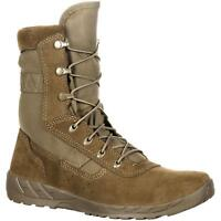 "Rocky RKC065 C7 CXT 8"" Lightweight Coyote Brown Tactical Military Combat Boots"