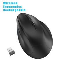 Wireless Vertical Ergonomic Mouse Rechargeable 2.4GHz Optical Ergonomic Mice USA
