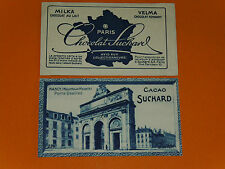 CHROMO PHOTO CHOCOLAT SUCHARD 1928 FRANCE NANCY PORTE DESILLES MEURTHE MOSELLE