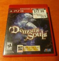Demon's Souls Sony PlayStation 3 PS3 Atlus , Havok
