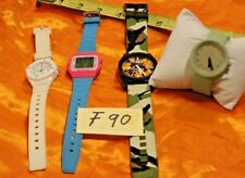 Watch Lot of 4 , Neff  Daily Camo , Casio and more F90