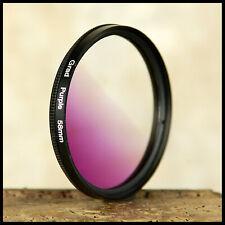 58mm Graduated Purple HD surreal skies clouds digital on Digital Canon Nikon