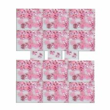 100  PEARLY PINK  BOWS  Designer Nail Art +Crafts