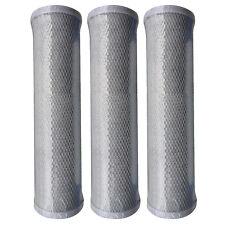 3 x Reverse Osmosis RO Unit Carbon Block Filter Cartridges