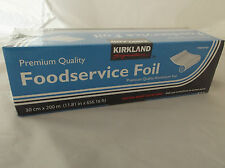 Kirkland Premium Quality Catering Aluminium KitchenFood Foil 30cm x 200m NEW