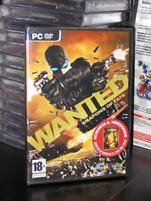 WANTED WEAPONS OF FATE GIOCO PC- DVD ROM NUOVO ITALIANO