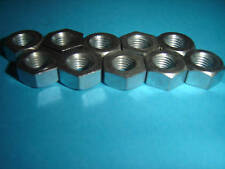5/16 THS CEI NUTS 26 TPI PACK OF TEN BZP UK MADE