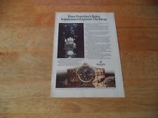 ROLEX  DAY DATE   VINTAGE MAGAZINE ADVERT        7     7    O     C