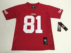 San Francisco 49ers Anquan Boldin #81 Official Unisex Youth NFL Jersey New