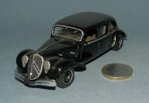 Roland Devos Créations 1/43 : Citroën Traction Familiale 22cv Salon 1934
