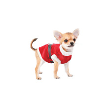 Christmas Pet Santa Suit Cute Small Dog Cat Puppy Red Fancy Dress Xmas Gift