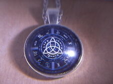 Beautiful Astrological Protection Amulet w Pentagram Heptagram Zodiac & Planets