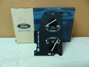 New OEM 1990-1992 Ford Water Temperature Temp Volt Dash Gauge Tach Tachometer