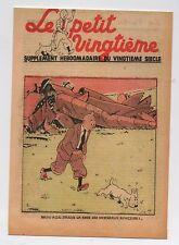 Carte Postale Tintin Le Petit Vingtième du 24 Juin 1937 Hors Commerce