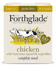 Forthglade Grain Free Adult Chicken Butternut Squash Veg Wet Dog Food 18 x 395g