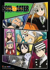 Soul Eater Group Wall Scroll Anime Licensed NEW
