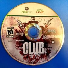 The Club (Microsoft Xbox 360, 2008) DISC ONLY 5827
