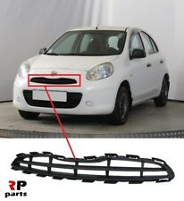 FOR NISSAN MICRA K13 2010-2013 NEW FRONT BUMPER UPPER GRILLE BLACK