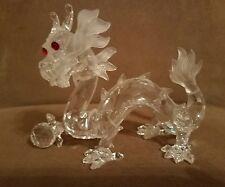 """Swarovski Crystal 1997 Annual Edition """"The Dragon"""" 7400NR097000/208398 Retired"""