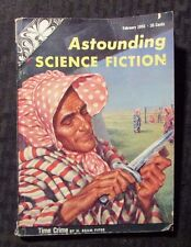 1955 Feb ASTOUNDING Science Fiction Digest Magazine VG 4.0 H Beam Piper