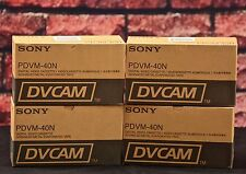 Sony PDVM-40N  Mini DV Cam Tapes -4X Box of 10