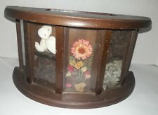 Vintage Price Imports Shadow Box Mail Caddy